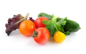 fresh vegetables are part of a heathly breakfast