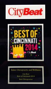 Best Chiropractor Best of Cincinnati 2014