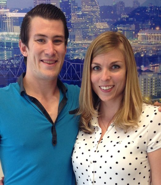 Baker Chiropractic and Wellness Patient Mandy Hampton and Dr. Brock Frear