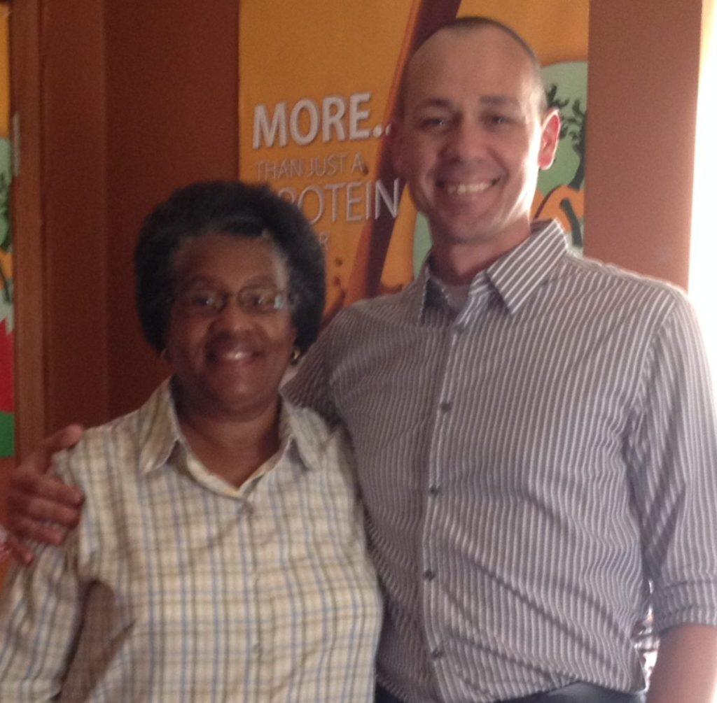 Linda Jackson and Dr. Matt Finke