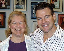 Pelvis pain and back pain patient Brenda Miller