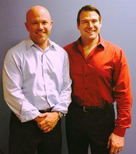 Glen Garvin and Dr. Patrick