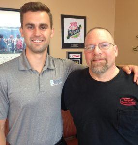 Mark Zillich came to Baker Chiropractic for sciatica