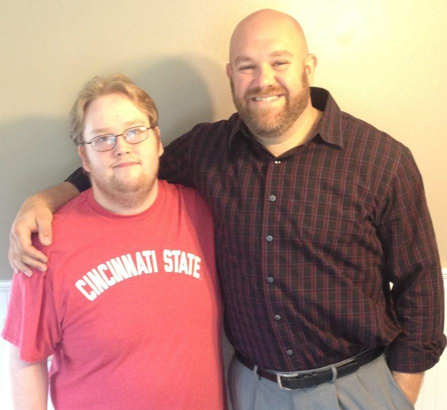 Cincinnati, Ohio chiropractor Dr. Joe Fields and Justin N.