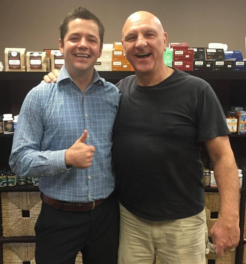 Baker Chiropractic and Wellness Patient Ron L. with Dr. Kelly Duffner
