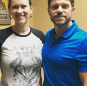 Baker Chiropractic and Wellness Patient Sonya S. and Dr. Todd
